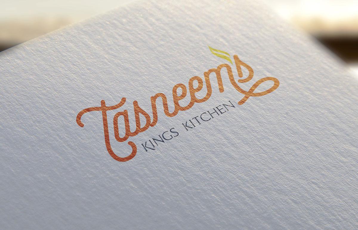 Tasneem's logo design
